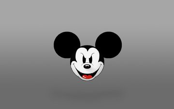 mickey mouse, disney, evil mickey