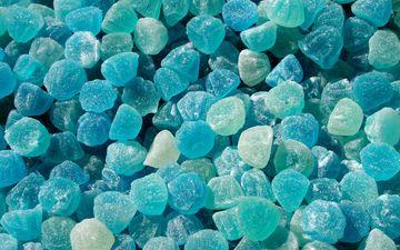 конфеты, голубой, мармелад