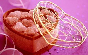 конфеты, сладости, подарок, праздник, конфета, valentines candy, valentines day