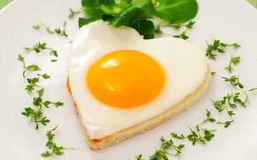 еда, яйцо, яичница, жареное, глазунья, белок, желток