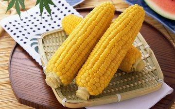 желтый, еда, цвет, кукуруза, вкусно, злак, полезно