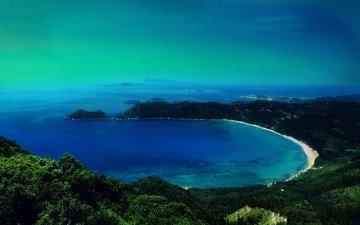 beach, bay, laguna