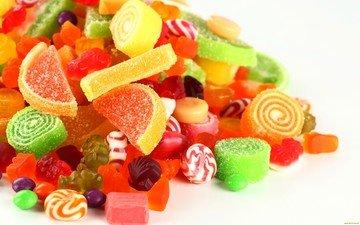 конфеты, сладости, сладкое, сахар, леденцы, мармелад, конфетки, желатин