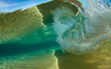 вода, волна, океан