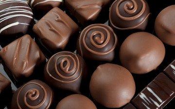 конфеты, шоколад, сладкое, десерт, сладкие конфеты, шокколадные