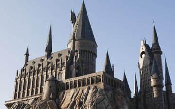 замок, сша, орландо, хогвартс, гарри поттер, штат флорида, hogwarts castle, парк развлечений