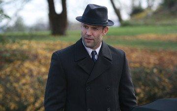 актёр, шляпа, пальто, джейсон стэтхэм