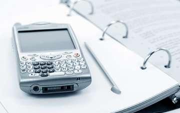 телефон, блокнот, бизнес