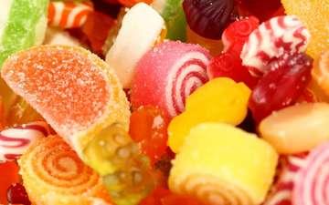 конфеты, сладости, мармелад