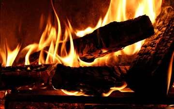 пламя, огонь