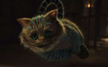 jump, alice in wonderland, cheshire cat