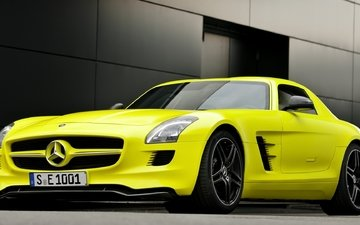 amg sls63 e-cell 1, мерс