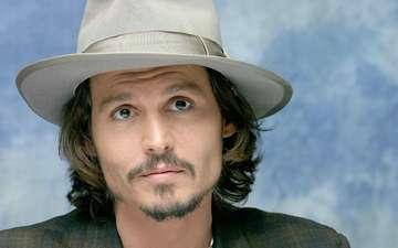 взгляд, актёр, джони депп, джонни депп, лицо, мужчина, шляпа