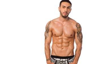 guy, tattoo, male, body, torso, muscle