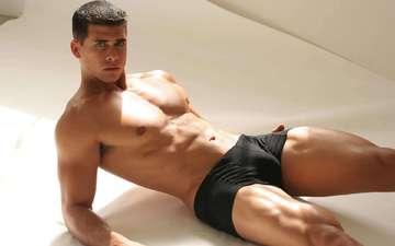 guy, male, body, torso, muscle