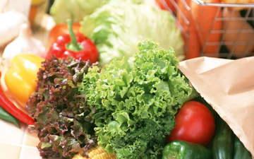 зелень, кукуруза, овощи, помидор, перец, спаржа, кабачки