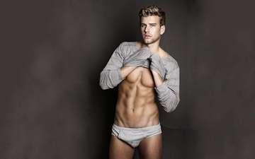 guy, male, beautiful, torso, muscles, muscle
