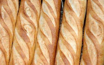 булки, хлеб, багет, выпечка, батон, французский багет