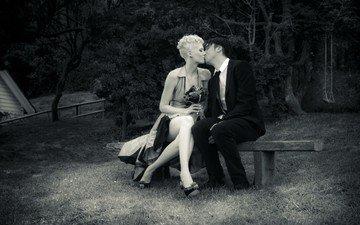 kiss, date