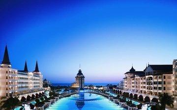 бассейн, отдых, отель