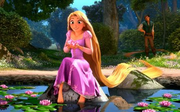 rapunzel, cartoon, rapunzel: a tangled tale