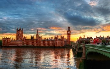 лондон, биг бен, big-ben