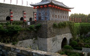 ворота, китай, здание, история, пекин