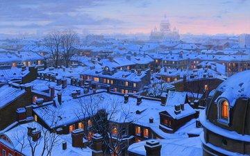 санкт-петербург, живопись