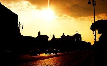город, италия, рим