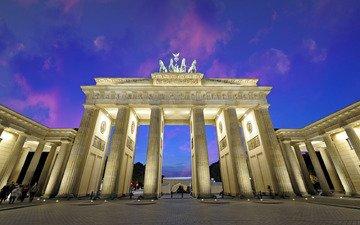 германия, берлин, бранденбургские ворота