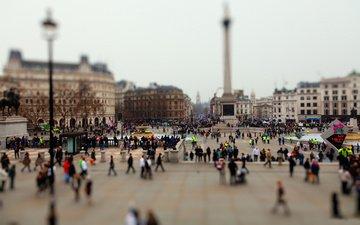 люди, город, площадь