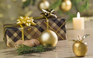 новый год, зима, подарки