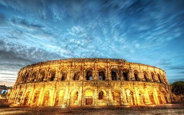 руины, рим