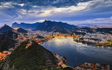 залив, бразилия, бухта, рио-де-жанейро, гуанабара