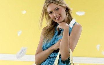 blonde, tennis, maria sharapova
