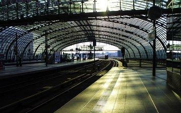 город, вокзал, берлин