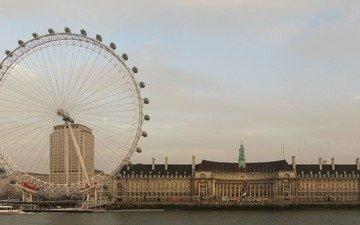 лондон, колесо обозрения, англия