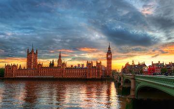 лондон, англия, биг бен