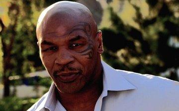 мужчина, спортсмен, татуировка, мускулы, брутальный мужчина, самец, майк тайсон, боксер