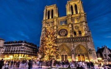 франция, собор парижской богоматери, нотр-дам-де-пари