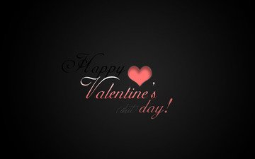wallpaper, background, black, minimalism, mood, holiday, labels, valentine's day, happy valentines day