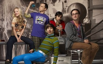the big bang theory, penny, sheldon, leonard, howard, koothrappali