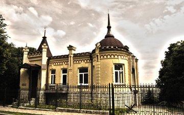 забор, улица, архитектура, здание, купол, решка