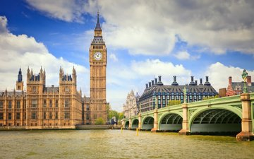 лондон, темза, биг бен, big-ben