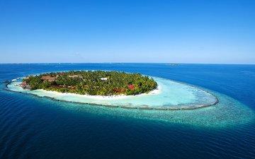 океан, остров