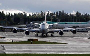 боинг, 747, ayerodrom