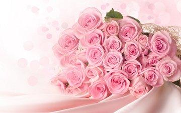 nezhnost, butony, rozy, buket