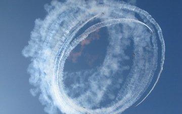 nebo, aviaciya, samolyoty