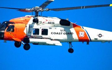 вертолет, береговая охрана