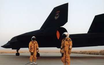sr 71, piloty, blackbird